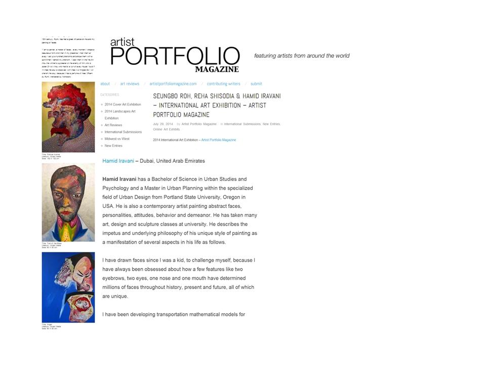 Art Portfolio 960X720